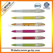 Plastic cover ballpoint pen refill