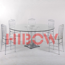 dining glass table round table with chairs
