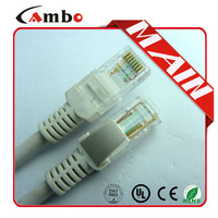 high speed 4 pairs 24awg cat5e utp patch cord for Factory price made in china pure copper 8P8C OEM/ODM