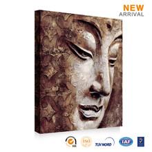 Wholesale famous modern buddha face decorative wall art