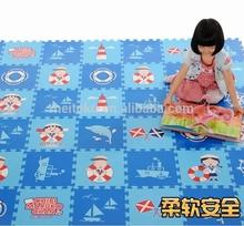 Branded export surplus printed play mat