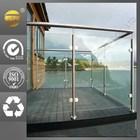 modern home indoor laminated glass railing balcony & stairway design