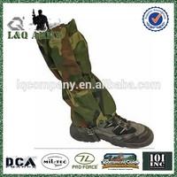 Military Camo Gaiter Boot Legging Leather Gaiters