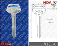 WJJ-3L Steel blanks keys