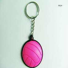 Nice basketball soft pvc key chain