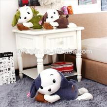 Car decoration soft plush pug dog toy stuffed plush car dog toy