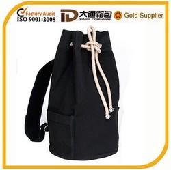 eco-friendly cheap canvas drawstring bag