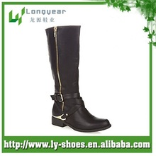 Fashion Leather Womens Boots
