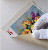Water Resistant Art Canvas(pure cotton) for inkjet printer