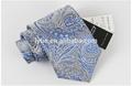 Venta caliente tejido jaquard 100% de seda corbatas de moda para los hombres