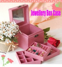 easy carry travel jewelry box promotional cheap christmas gift bags