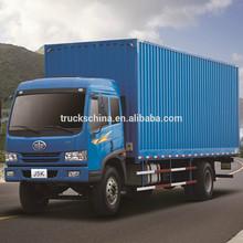12T 4x2 FAW van cargo truck