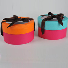 Kraft cylinder paper gift box series