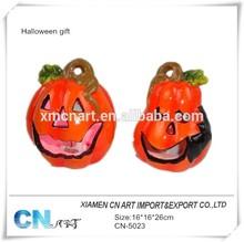 Halloween gift resin pumpkin vietnamese pumpkin for holiday decor