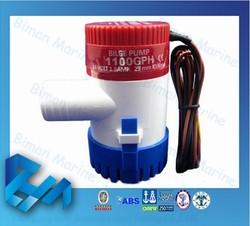 1100GPH 12v DC Bilge Pump Marine 12 Volt Battery Powered Water Pump