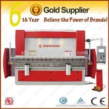 WE67K-100T/2500 CNC hydraulic mild steel press brake