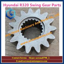 hyundai R320LC-7 excavator swing sun gear for planetary gearbox