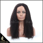 Noblest hair Wholesale Cheap Raw Brazilian Virgin Human Hair Lace Wig Brazilian Kinky Curly Lace Front Wig With Baby Hair