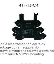PLC slim din rail relay socket