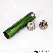 Alibaba wholesale e-cig Ago 17 mod stainless steel mod gas vaporizer kits