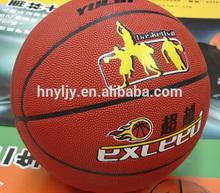 Hygroscopic PU, Microfiber PU Yulin Wholesale Basketball Brand