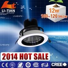 CE ROHS High quality commercial lighting 4000K ce led horizon down light