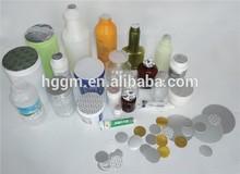 Aluminium Foil Lids, Bottle Caps, Closures