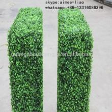 Q121209 artificial garden fence manufacturers export artificial green box plastic hedge