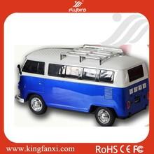 Promotion bus shape mini car model speaker
