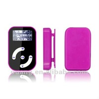"""1.1"""" LCD Screen Clip MP3 Player with FM & TF Card Slot"""