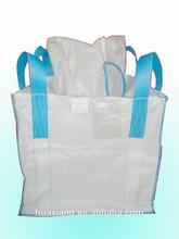 Flat Bottom Option (Discharge) and Cross Corner Loop Option (Lifting) jumbo bag size 1ton gc01