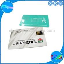 cheapest designer super thin card usb memory flip card usb flash
