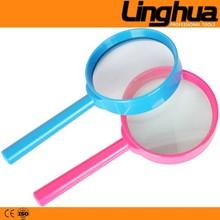 Handheld plastic frame 60mm Lens 5X Magnifying Glass