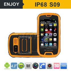 android 4.4 GPS 3G IP68 waterproof shockproof oem android phone