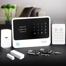 Auto-dial wireless GSM alarm system, home GSM+WiFi alarm panel & WiFi network home alarm