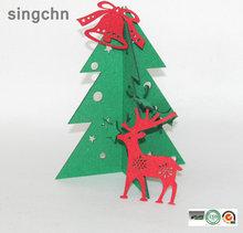 Chrismas Felt Tree, Chrismas Felt Ornament With Competitive Price