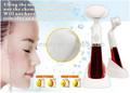 2015 nuevos productos de electrónica de corea caliente venta de limpieza profunda del poro cepillo facial hecha en china