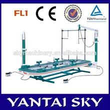 FL1, simple flat lift automotive frame machines car o liner