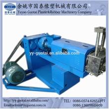 single degassing screw extruder cleaning machine plastic granulator made in china