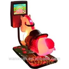 Children games! kids amusement rides mini rides/indoor mini racing game horse ride for sale