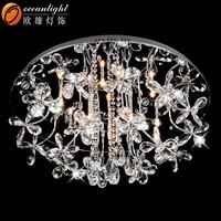 Dia60cm Ocean latest K9 Crystal LED Decoration Lamp