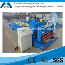 Color Coated Glazed Roofing Tile/Sheet Metal Roll Forming Machinery Production Line
