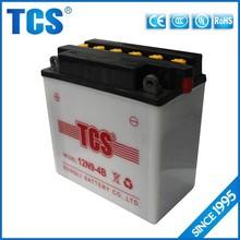 Xiamen supply battery for motorcycle 9ah 12v