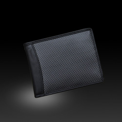 Hot Luxury Factury Supply 100% Real Fiber Carbon Wallet
