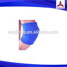 Blue neoprene sport elbow support