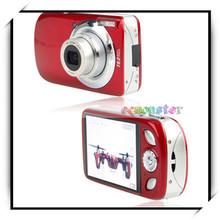 "DC620 3.0""LCD HD 5X Optical Zoom China Digital Video Camera US Standard Red"