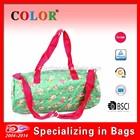 cheap pp woven handbag with printed, handbag for woman