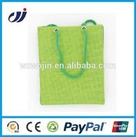 Nature photo printing jute bag/small jute bag/custom printed jute bags