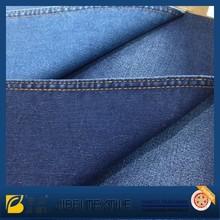 twill tc cotton slub dark indigo color for stock denim fabricJB5113S