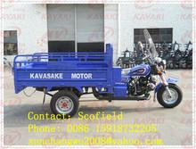 Turkmenistan KAWASAKE cheap 3 wheel motorcycle